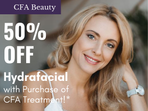 woman-CFA Beauty Med Spa-Hydrafacial Specials