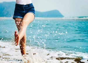 legs on beach-laser hair removal idaho falls-CFA Beauty-Center for Aesthetics